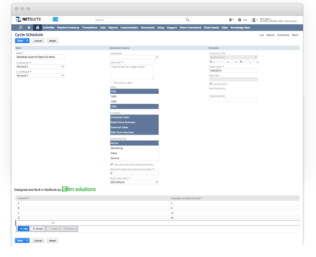 Physical Inventory Management in NetSuite made simple